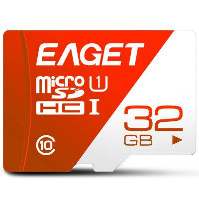 EAGET T1 Micro SD Card 32GB/64GB/128GB Class 10 TF Card Memory Card High Speed Flash for Phones Tablet