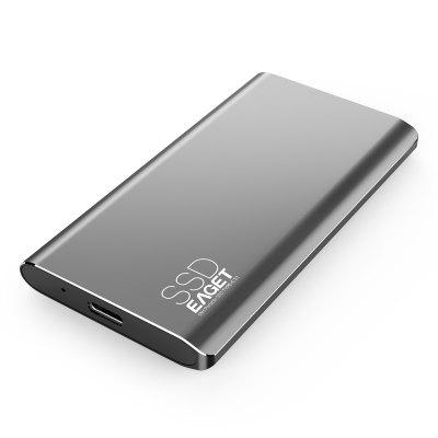 EAGET M1 Newest Item Portable SSD USB 3.0 128GB 256GB 512GB  External Solid State Drive Best Gift for Businessmen