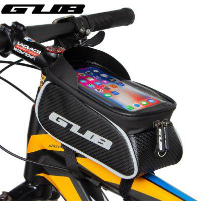 GUB 923 Bicycle Top Tube Bag Waterpoof Convenient 1.2L Large Capacity MTB Cycling Supports Moblie Phones Below 6.6 Inches