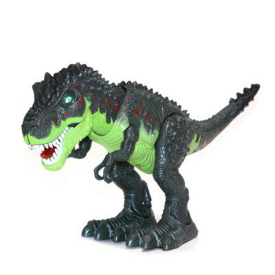 large size walking Electric dinosaur robot toys With music Light Walk Sounds Model Toys Clasic Educational toys for kids as gift