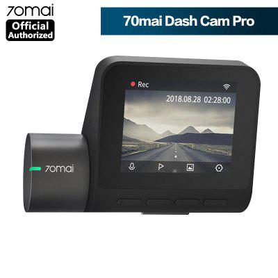Original 70mai Dash Cam Pro 1944P Speed & Coordinates GPS ADAS 70mai pro Car Dash Camera WiFi DVR Voice Control 24H Park Image