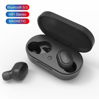 Фото - M1 Wireless Bluetooth Headsets PK Redmi Airdots Earbuds Wireless Earphone with Mic for iPhone Xiaomi Huawei Samsung - Black China 2020 new xiaomi airdots 2 tws wireless earphone bluetooth 5 0 dsp noise reduction handsfree earbuds tap control with mic