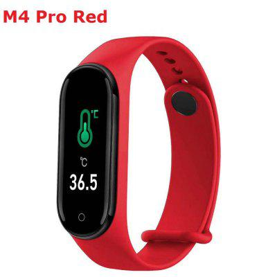 M4 Smart band Fitness Tracker Watch Heart Rate Blood Pressure Smartband Monitor Health Wristband - M4 red China
