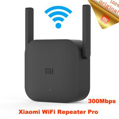 NEW Xiaomi 300M WiFi Amplifier Pro Signal Extender Repeater Wireless Receiving Routing Expansion Device - Black