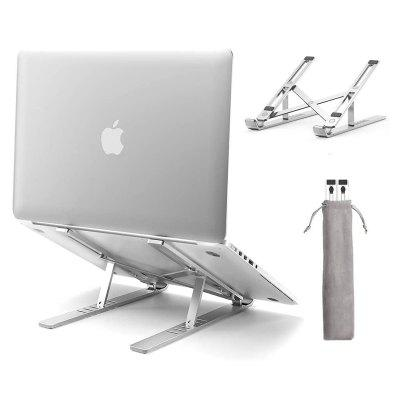 Laptop Stand Adjustable Aluminum Computer Compatible with MacBook Air Pro Dell XPS HP Lenovo More 10-17 Laptops