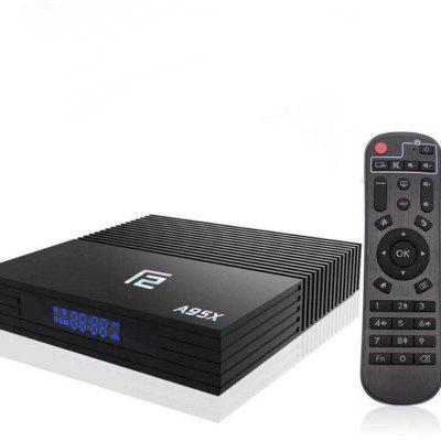 Android TV Box 4G 32G A95X F2 Android 9.0 TV Box Amlogic S905X2 Quad-Core Smart Android TV Box Image