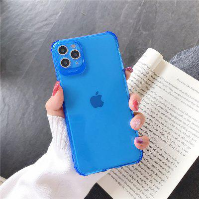 Candy Fluorescent Color Glasses Silicone Soft Phone Case For iPhone 11 Pro X XR XS Max 8 7 6 6s Plus SE 2020  TPU Back Cover