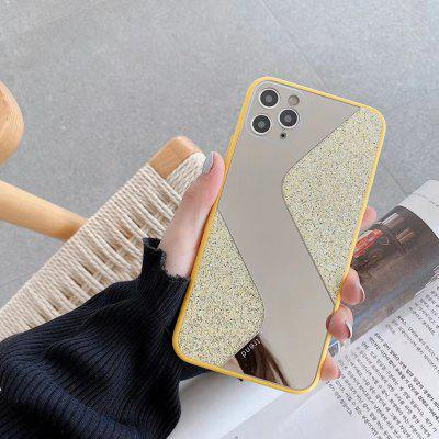 Case Luxury Flash Drilling S style Makeup Mirror Phone For iPhone 11 Pro Max XR XS 6  Plus 8 XSMAX X SE 2020 Soft TPU Cover