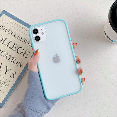 Mint Hybrid Simple Matte Bumper Phone Case for IPhone 11 Pro Max XR XS 6S 8 7 Plus Shockproof Soft TPU Silicone Clear Cover