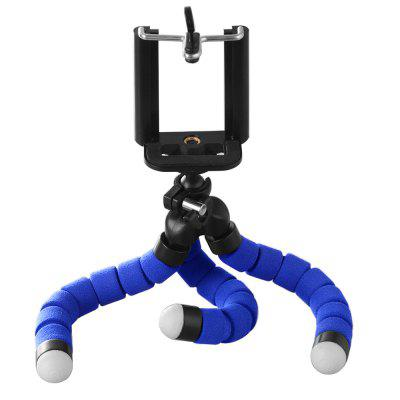 Flexible Tripod Phone Holder for IPhone 11 Pro Max Samsung Xiaomi Sponge Octopus Mobile Stand Smartphone Camera