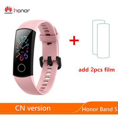 Huawei Honor Band 5 Smart 0.95 inch Smart Tracker OLED Swimming Waterproof Bluetooth Fitness Tracker