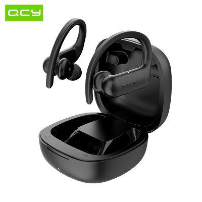 QCY T6 TWS Sports Earphones Bluetooth 5.0 Wireless App Control ACC SBC Light IPX4 Waterproof DSP Earphone Noise Reduction