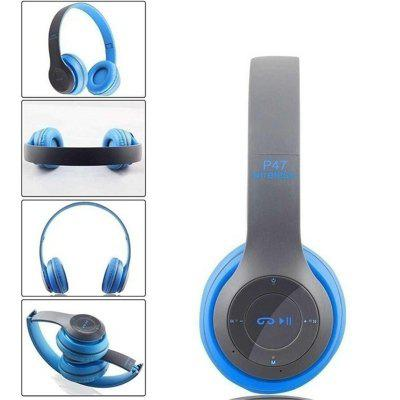 NEW P47 Bluetooth 5.0 Headphones Stereo Headset Wireless Foldable Mic Earphone Earbuds