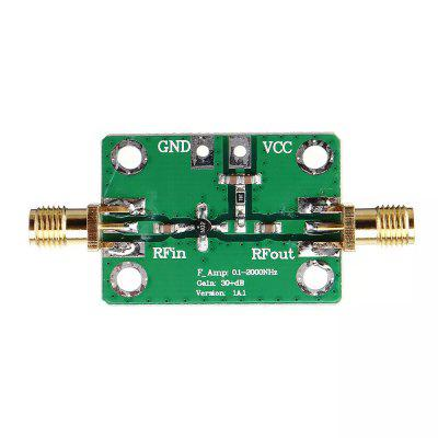 01 2000MHz RF Amplifier Wideband High Gain 30dB Low Noise Amplifier LNA Broadband Module Receiver