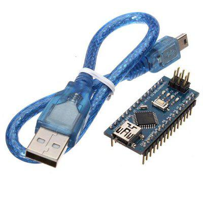 ATmega328P Nano V3 Module Improved Version With USB Cable Development Board for Arduino - products that work with official Arduino boards