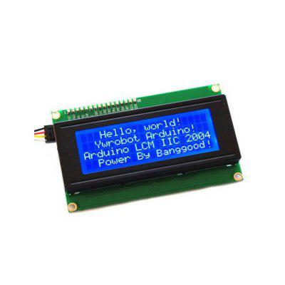 4 3 lcd display module with touch screen IIC I2C 2004 204 20 x 4 Character LCD Display Screen Module Blue  for Arduino - products that work with official Arduino boards