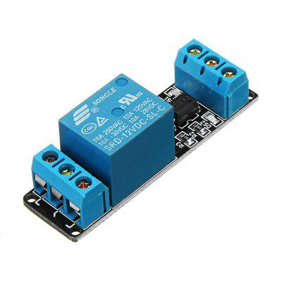 250A 10A DC12V 1CH Channel Relay Module Low Level Active For Home Smart PLC Geekcreit for Arduino - products that work with official Arduino boards