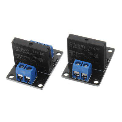 1 Channel DC 24V Relay Module Solid State High and low Level Trigger 240V2A Geekcreit for Arduino - products that work with official Arduino boards