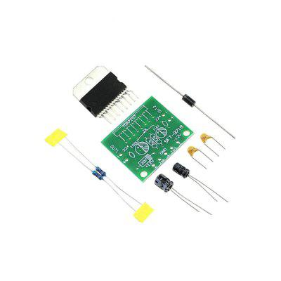 TDA7297 12V Pure DC Power Amplifier Board Parts Level Rear Stage 2.0 15W15W Dual Channel Electronic DIY Kit