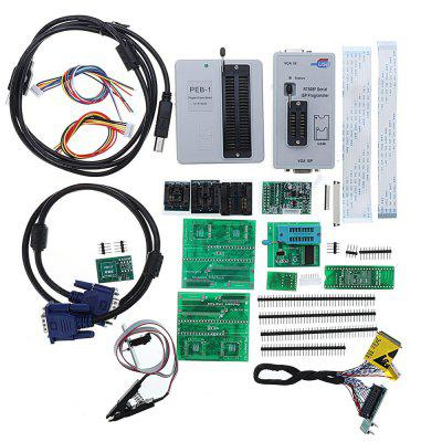 RT809F ProgrammerAll Adapters SOP8 IC Clip LCD Reader  PEB-1 Expansion Board Edid Cable