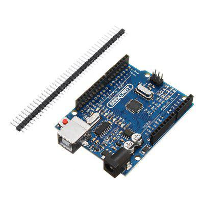 UNO R3 ATmega328P Development Board No Cable for Arduino - products that work with official Arduino boards frearduino leonardo r3 for arduino works with official arduino boards page 7