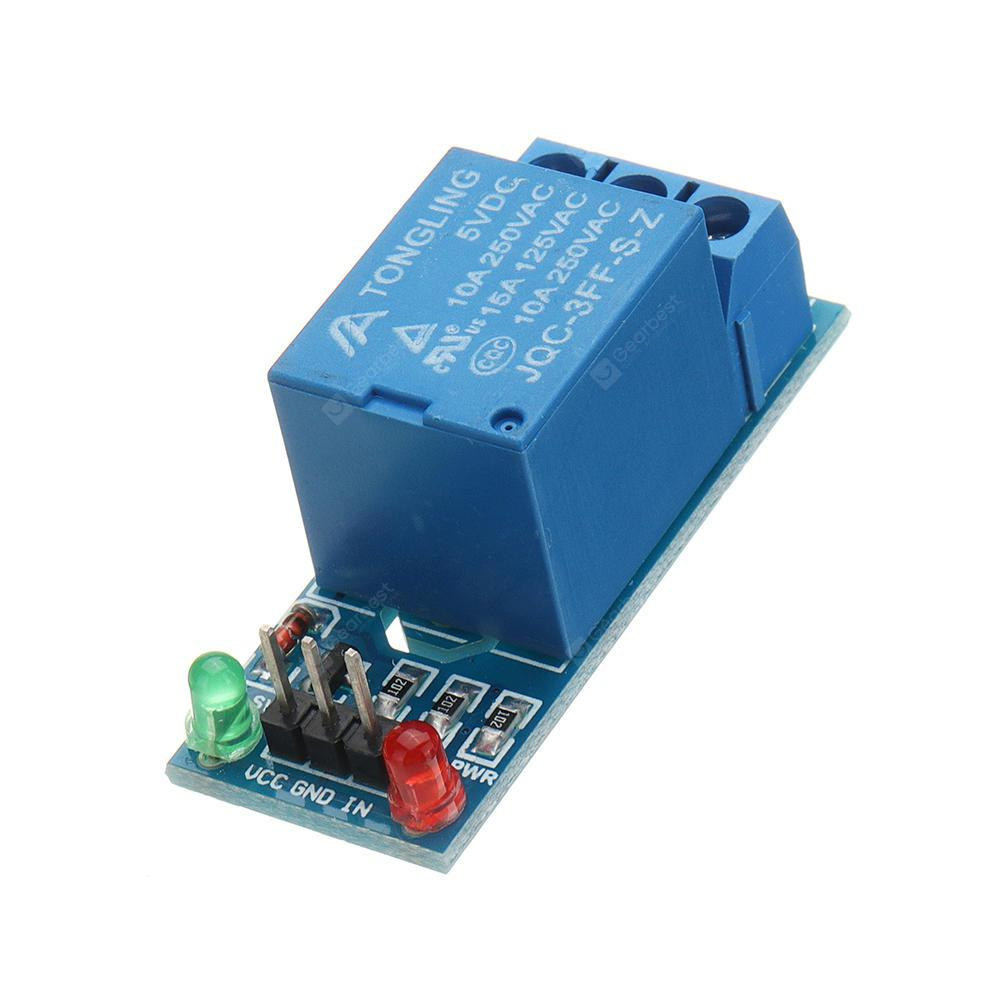 5V Low Level Trigger One 1 Channel Relay Module Interface Board Shield DC AC 220V