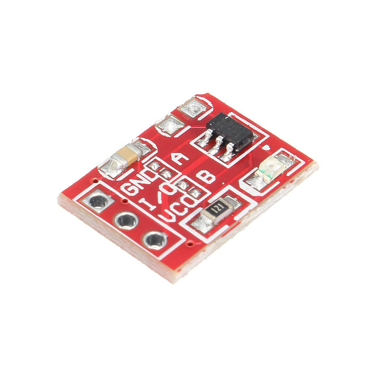 3pcs 2.5-5.5V TTP223 Capacitive Touch Switch Button Self Lock Module for Arduino - products that work with official Arduino boards
