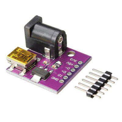 5V Mini USB Power Connector DC Power Socket Board CJMCU for Arduino - products that work with official Arduino boards