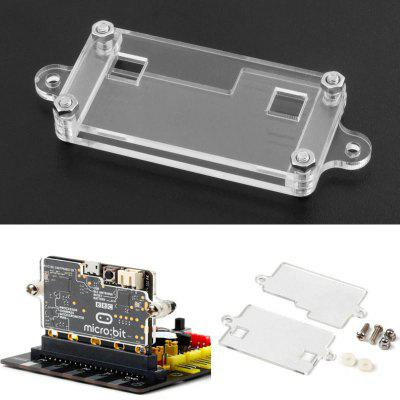 Transparent Acrylic Shell Kit For BBC Micro bit Development Module Case Protection