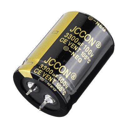 3300UF100V 30x40mm Radial Aluminium Electrolytic Capacitor High Frequency 105C