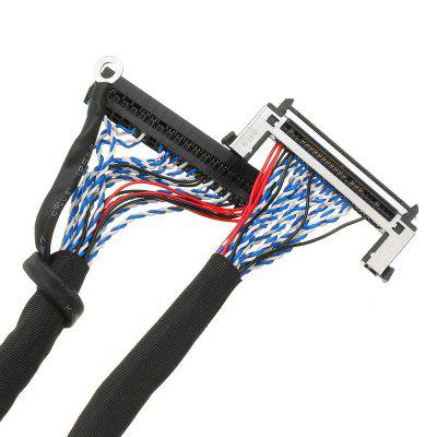 High Score 2CH 10-bit Screen Cable Length 55CM 1M Universal For LG LED Network Board LCD Driver