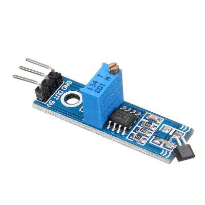 5pcs LM393 3144 Hall Sensor Switch Module for Smart Car  Arduino - products that work with official boards