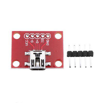 3pcs Mini USB Converter Module Convertsion Board For Mini-B Power Extension