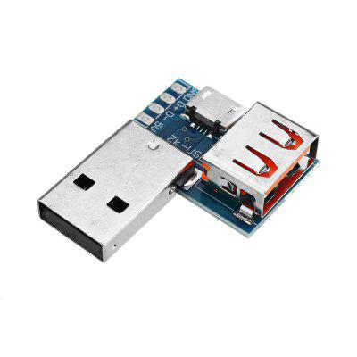 3pcs USB Adapter Board Micro to Female Connector Male Header 4P 2.54mm