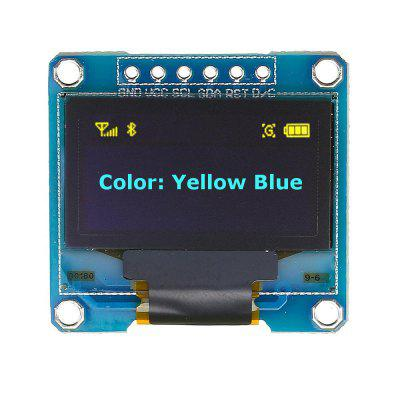 0.96 Inch 6Pin 12864 SPI Blue Yellow OLED Display Module  for Arduino - products that work with official Arduino boards bluetooh bee hc 05 wireless bluetooth module for arduino works with official arduino boards
