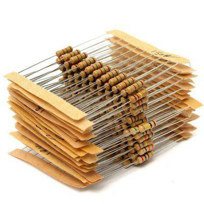300pcs 30 Value 1ohm-3M 12W Carbon Film Resistor
