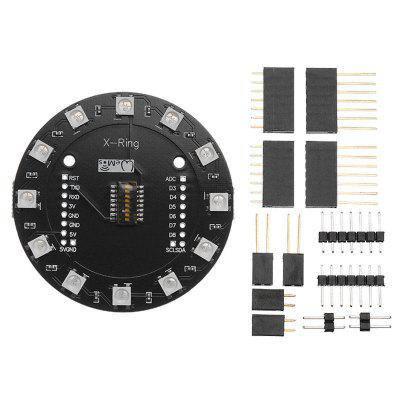 X-Ring RGB WS2812b LED Module For Built-in 12 Colorful WAVGAT ESP8266