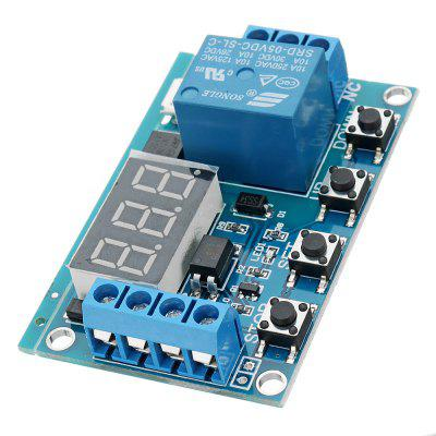 DC 6V To 30V One Way Relay Module Delay Power Off Disconnection Trigger Cycle Timing Circuit Switch