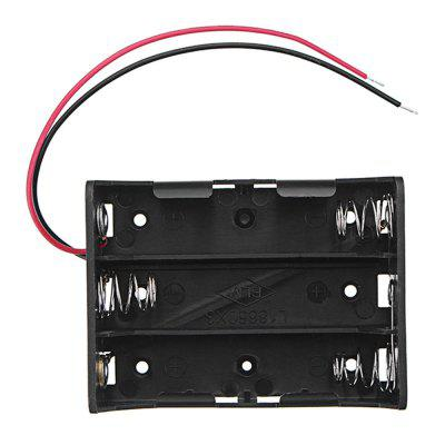 5pcs DC 11.1V 3 Slot Series 18650 Battery Holder High Quality Box Case With 2 Leads And Spring CE RoHS Certification