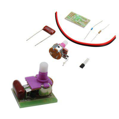 5pcs DIY Silicon Controlled Switch Dimmer Lamp Kit Electronic Switch Module Kit