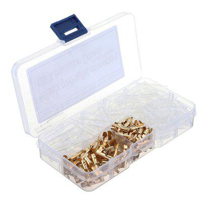 120pcs 3.5MM Male-female Connection Terminal With Insulating Cover For Fast Wire Connector and Jacket