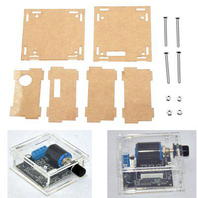 Transparent Acrylic Protective Case For DC 12V 24V 4-20mA Digital Signal Generator Module Board
