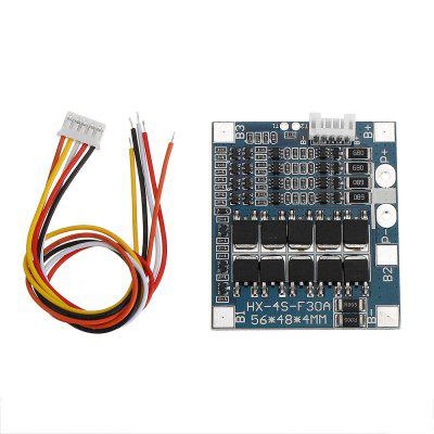 4S Series 3.2V Protection Board 30A 12.8V Discharge with Balance Lithium Iron Phosphate Battery Protection Board 10MOS