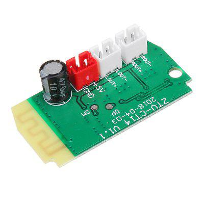 3Wx2 Mini bluetooth Receiver Module With 4Ohm Speakers Power Amplifier Audio Board Decoding MP3