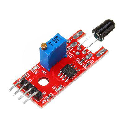 5pcs KY-026 Flame Sensor Module IR Detector For Temperature Detecting  for Arduino - products that work with official boards