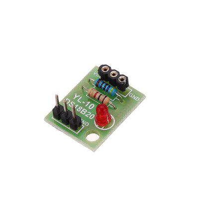 5pcs DS18B20 Temperature Sensor Module Measurement Without Chip DIY Electronic Kit  for Arduino - products that work with