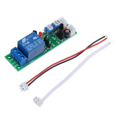 JK11-PB Time Delay Relay Module 0-100S Adjustable 0.5S Open for Computer Automatic Start