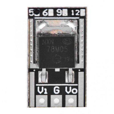 5pcs 78M05 Mini Voltage Regulator Module with Pin High Accuracy Low Power Consumption LO7805MA 5V