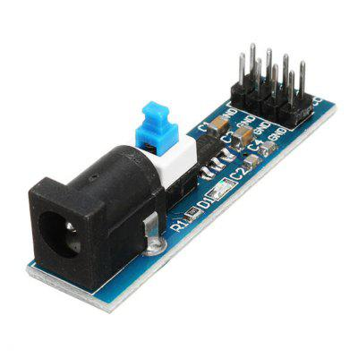 5Pcs AMS1117 3. 3V Power Supply Module With DC Socket And Switch