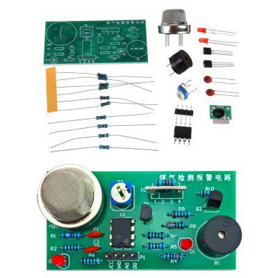 MQ5 Gas Detection and Alarm Circuit Board DIY Parts Support Sound Light Sensor Kit